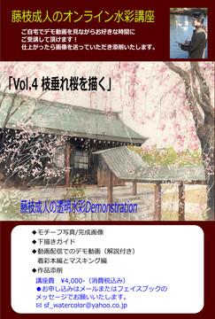 枝垂れ桜を描くdm.jpg
